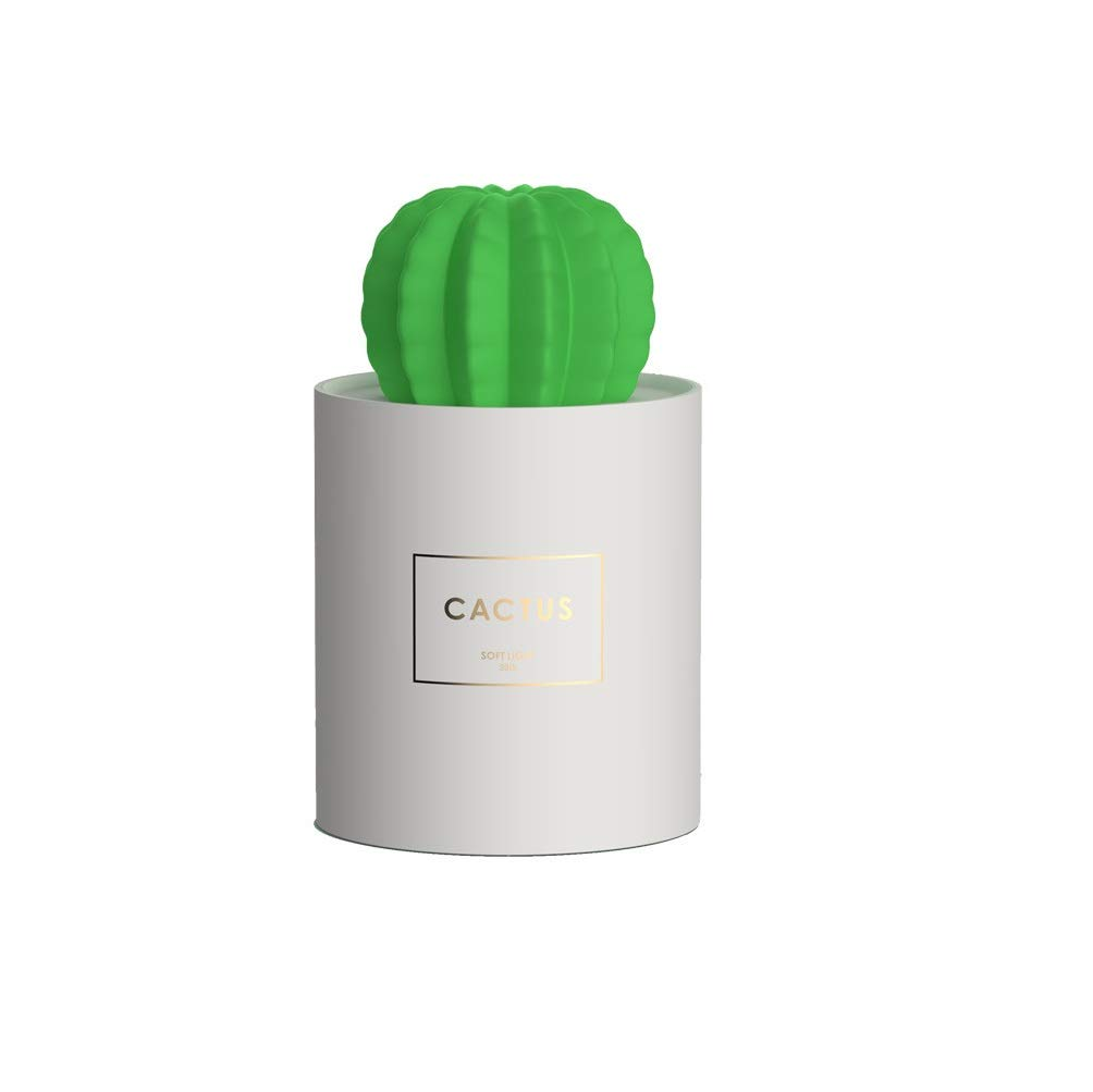Modernlife Cactus Humidifier, Mini Mist Humidifier Night Light USB Portable Air Diffuser with Auto Shut-Off, for Bedroom, Baby Room, Home, Yoga, Office, Spa, Coffee Bar, Travel Desktop