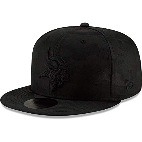 New Era Blackout Camo Play 9FIFTY Adjustable Snapback Hat (Minnesota Vikings)
