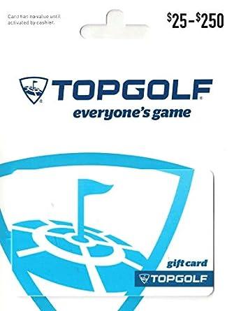 Amazon.com: Tarjeta de regalo de Topgolf.: Tarjetas de regalo