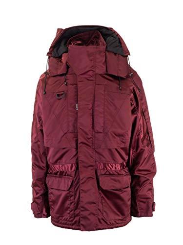 Balenciaga Luxury Fashion Mens 594907TYD316140 Burgundy Down Jacket   Fall Winter 19