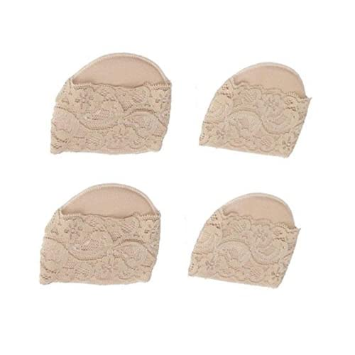 2Pairs Ultra-doux Coussins Avant-pied Invisible Pied Pad Sandal Thong Protectors Toe Guards Coussins