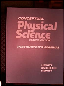 Book Conceptual Physical Science Instructor's Manual