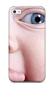 Iphone 5c Hard Back With Bumper Silicone Gel Tpu Case Cover Baby