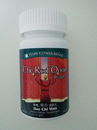 (The Red Door Teapills Dao Chi Wan Plum Flower 200 Pill/bt,,standard Dosage 8 Pills, 3 X Per Day by Plum Flower)