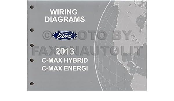 2013 Ford Cmax Wiring Diagram Manual Original Amazon Booksrhamazon: C Max Wiring Diagram At Gmaili.net