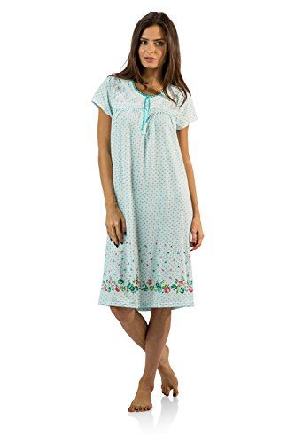 Casual Nights Womens Flower Nightgown product image