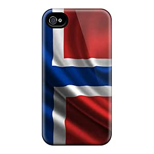 New Style ShaCke Norwey Premium Tpu Cover Case For Iphone 4/4s