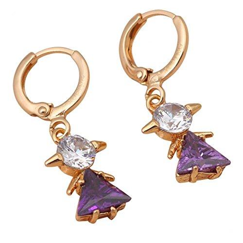 Amethyst Purple Austrian Crystal - 8
