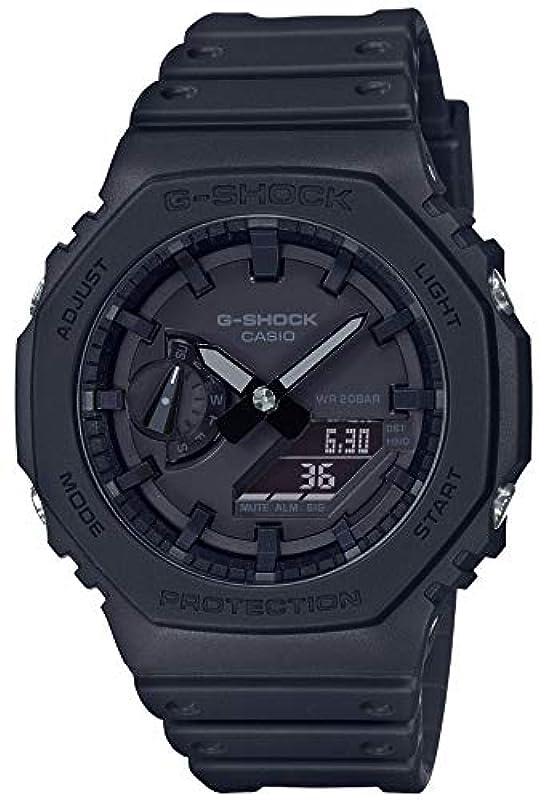 CASIO G-SHOCK 시계 카본 코어 가드 GA-2100-1A1JF