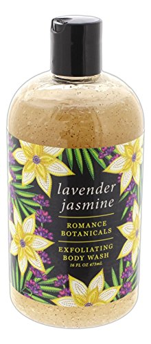 Greenwich Bay Romance Botanicals Exfoliating Body Wash - Lavender Jasmine