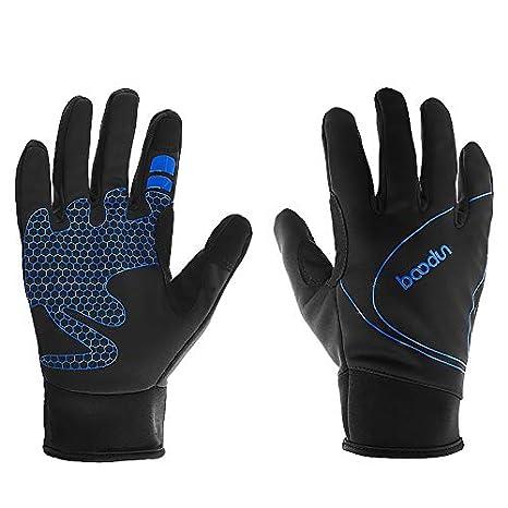 3e69ed0c2c4cc5 TIABO Fahrradhandschuhe Winter Handschuhe Skihandschuhe laufhandschuhe  Männer Frauen Touchscreen Warm und Winddicht Wasserdicht für Thermisch ...