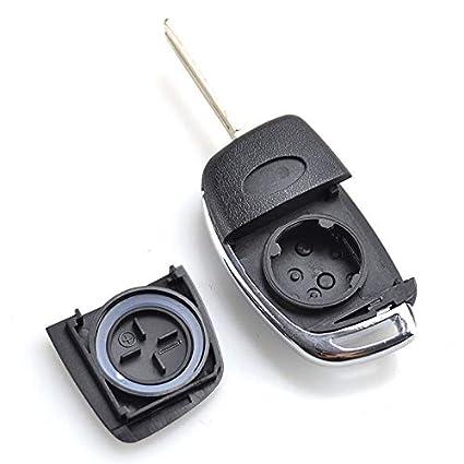 Amazon.com: Carcasa para llave de coche para Hyundai Santa ...