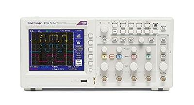 Tektronix TDS2004C, 70 MHz, 4 Channel, Analog Oscilloscope, 1 GS/s Sampling,