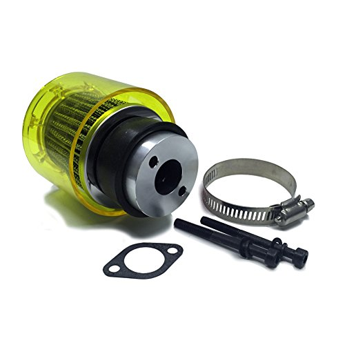 TOP SPEED RC WORLD Air filter Set With Plastic Yellow cover