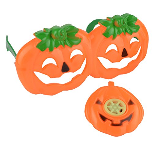 SpringPear Halloween Props Pumpkin Whistle + Glasses Toy Surprise Party Decoration Games for Boys and Girls
