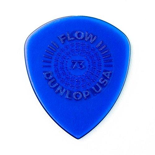 Grip Standard Picks - Dunlop Flow Standard Grip.73mm Guitar Picks (549P.73)