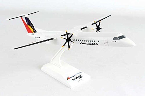 Skymarks Skr927 Philippines Airlines Bombardier Dash 8 Q400 1 200 Scale Reg Rp C5901 Display Model With Stand