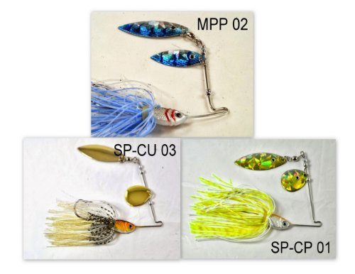 Akuna [MS] Pros' pick recommendation collection of lures for Bass, Panfish, Trout, Pike and Walleye fishing in Mississippi(Bass - Mississippi Pro Bass