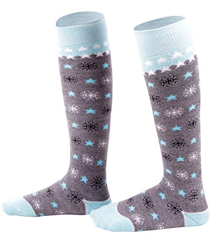 Lullaby Kids Snow Ski Socks Lightweight Full Terry Warm Skiing Socks