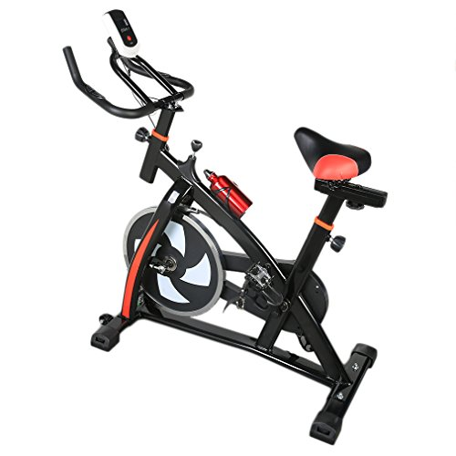 Exercise Bike With HD Display & Water Bottle Portable