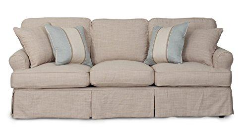 Sunset Trading Horizon Slipcovered Sofa, 88