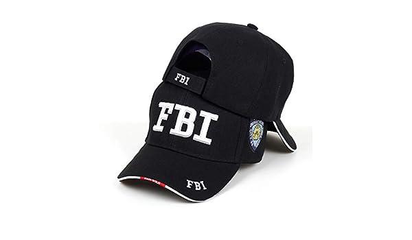 Hombre Militar Combate Negro Swat FBI Seguridad Militar Gorra B/éisbol Visera Sol Nuevo