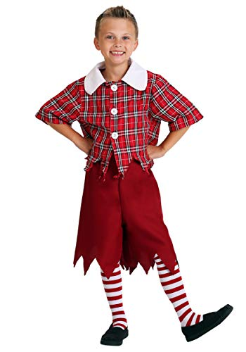 Child Red Munchkin Costume Large (12-14)]()