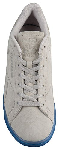 Reebok Mens NPC UK Ice Fashion Sneakers Steel/Ice Grey e33zCBg0