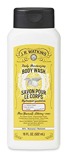 - J.R. Watkins Daily Moisturizing Lemon Cream Body Wash, 18 Ounce