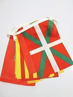 AZ FLAG Guirnalda 6 Metros 19 Banderas de Las 19 COMUNIDADES AUTONOMAS DE ESPAÑA con Ciudades 21x15cm - Bandera REGIONES ESPAÑOLAS 15 x 21 cm - banderines: Amazon.es: Hogar