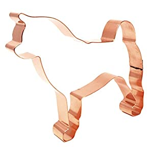 Akita Copper Dog Cookie Cutter 5