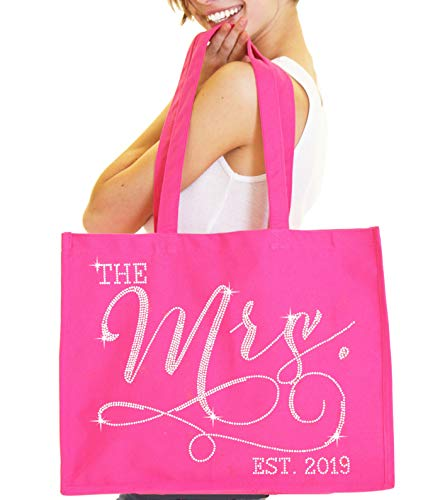 Pink Bride Tote Bag - Giant 18