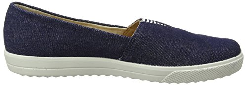 Hotter Damen Laurel EXF Bootsschuhe Blau (Denim)
