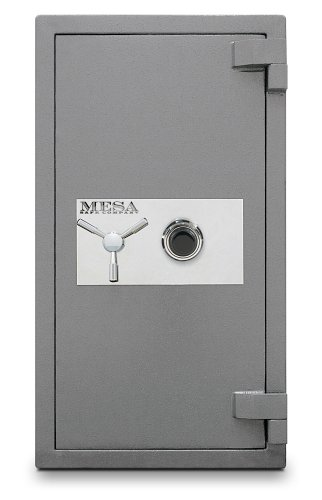 Mesa-Safe-MSC3820C-High-Security-Burglary-Fire-Safe-All-Steel-with-Combination-Lock-44-Cubic-Feet-Silver