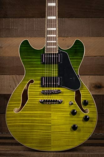 Ibanez Artcore AS73FM - Green Valley Gradiation