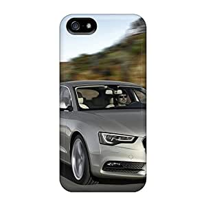 5/5s Scratch-proof Protection Case Cover For Iphone/ Hot Audi A5 Sportback 2012 Phone Case