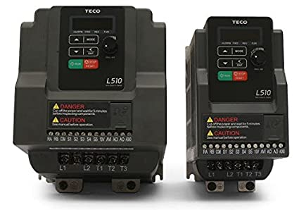 Teco Variable Frequency Drive, 3 HP, 230 Volts 3 Phase Input