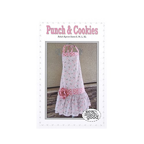 Apron Patterns Sew - Christensen Wholesale Sew Much Good Punch & Cookies Apron Pattern