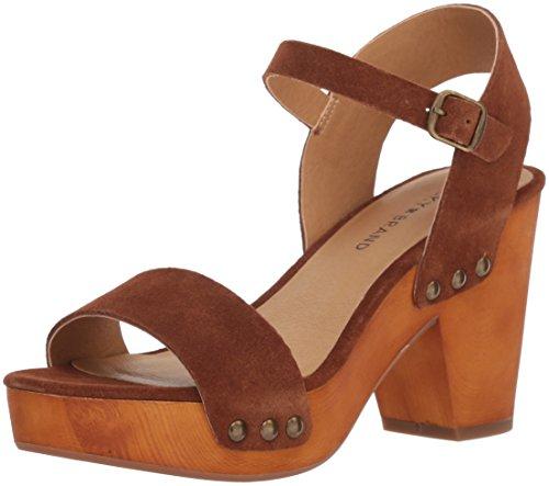 Lucky Brand Women's Lk-Trisa Heeled Sandal Cedar SVKJwjcr
