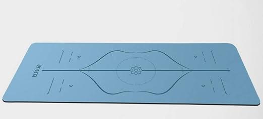 Esterillas de Yoga de Goma Natural Antideslizantes para ...