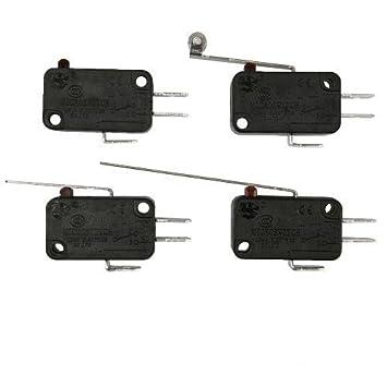 Modell A 10 x Mikroschalter Mikrotaster Taster Schalter 1x Um