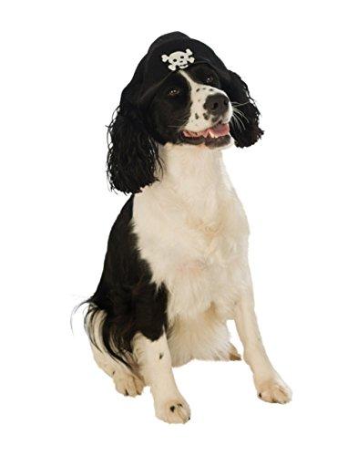Rubies Costume Company Pirate Boy Hat Pet Costume Accessory, Small/Medium ()