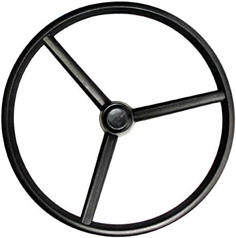 Complete Tractor 1104-4906 Steering Wheel Black