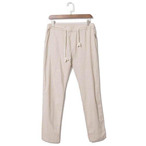 Banana Bucket Men's Casual Beach Trousers Linen Pants