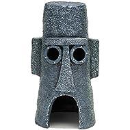 Penn Plax Squidward's Easter Island Home Ornament