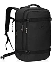 Hynes Eagle Men's Travel Backpack Airline Approved Carry-On Backpack Weekender Bag,20.5x13.8x8.7 inches
