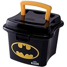 Caixa com Alça e Trava Batman Plasútil Preto 1 L