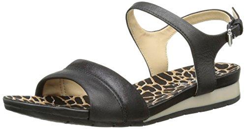 Heel Women's Flat Black C Geox Sandal D Formosa pTOgw