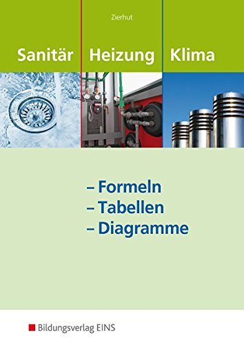 Sanitär-, Heizungs- und Klimatechnik: Formeln - Tabellen - Diagramme: Formelsammlung