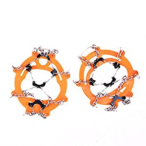 Amazon.com: LooBooShop Hiking Climb Snow Ice Crampons